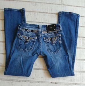 Miss Me Boot Cut Jeans JP60538 Women's S 26